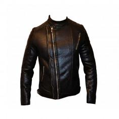 Geaca Barbati Zara Man Motto David Beckham Imblanita Cod Produs D346, Piele