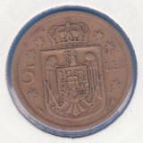 Monede Romania, An: 1930 - (MR35) MONEDA ROMANIA - 5 LEI 1930 PARIS, MIHAI I - REGENTA-SE VINDE IN CARTONAS