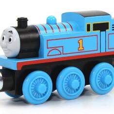 Trenulet de jucarie Fisher Price, 2-4 ani, Lemn, Baiat - Locomotiva Thomas, colectia Thomas si prietenii sai, Fisher Price