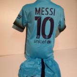Echipamente sportive copii FC.Barcelona Messi compleu fotbal marimea 176 - Set echipament fotbal, Marime: Alta
