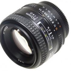 Obiectiv Nikon AF-D 50mm f/1.4 D, bonus filtru uv - Obiectiv DSLR Nikon, All around, Autofocus, Nikon FX/DX