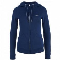BLUZA ADIDAS PARIS SLIM FZ H COD AB2415 - Bluza dama Adidas, Marime: 34, Culoare: Albastru