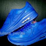 Adidasi nike air max albastru impermeabil 90 hyperfuse