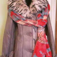 Palton dama - COJOC DAMA-BLANA -BEJ/CREM -SERIE MICA L-XL