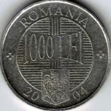 Monede Romania - Monede 1000 lei din 2001, 2002, 2003 şi 2004