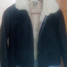 Palton dama - Cojocel dama cu blanita naturala