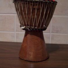 Bongo (toba) din Camerun facuta manual (handmade) - Tobe