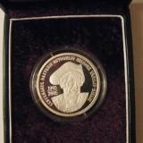 5 LEI 2005 CENTENARUL NASTERII ACTORULUI GRIGORE VASILIU-BIRLIC RARITATE!!! - Moneda Romania, Argint