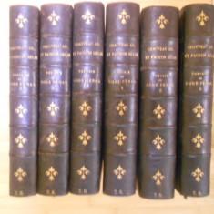M. CHAUVEAU ADOLPHE--TEORIE DE COD PENAL 6 VOL. - COMPLET - 1887-1888 - Carte Drept penal
