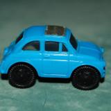 Jucarie figurina masinuta din ou Kinder Surprise, albastru, 4 cm, plastic, colectie, - Figurina Povesti