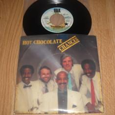 Hot Chocolate : Chances/A Night To Remember (1982) (vinil single cu 2 piese) - Muzica Pop emi records