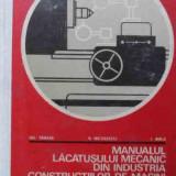 Carti Mecanica - Manualul Lacatusului Mecanic Din Industria De Constructii De - Gh Tanase V Nicolescu I Birla, 523033