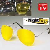 Ochelari pentru condus noaptea Night View  utili pt noapte si zi, uv