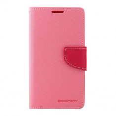 Husa Telefon Atlas, Roz, Textil, Toc - Toc My-Fancy Samsung Galaxy S5 G900 Roz
