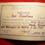 Diploma/Certificat - Diploma PCR, Invatamant Politic 1979 Activitatea de Partid