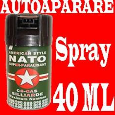 Spray paralizant NATO autoaparare cu lacrimogen