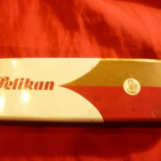 Cutie metalica pt. Stilou Pelikan MK20 tip F, produs Gunther Wagner Germania, L= 14, 4 cm