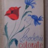 Broderii colorate editura tehnica modele nina doru edita a doua 1963 fara planse