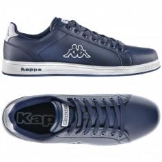 Adidasi originali KAPPA - din piele - adidasi barbati - cutie - 40, 41 1/3, 42, Culoare: Albastru, Piele sintetica