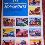 Album d images L Encyclopedie par le timbre les Transports avioane auto moto