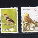 Timbre Romania - ROMANIA 2015 -PASARI CANTATOAREI - LP 2057