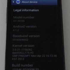 Telefon mobil Samsung Galaxy S2, Negru, Neblocat - Samsung Galaxy S2 Neverlocked