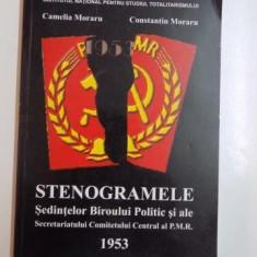 STENOGRAMELE SEDINTELOR BIROULUI POLITIC SI ALE SECRETARIATULUI COMITETULUI CENTRAL AL P.M.R de CAMELIA MORARU SI CONSTANTIN MORARU 2012
