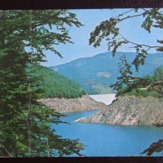 Vedere/Carte postala - RPR - Remeti - Jud Bihor - Barajul Lesu - Carte Postala Banat dupa 1918