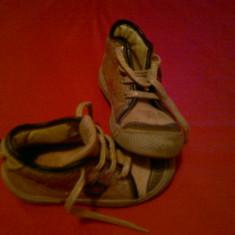 Ghetute originale Daumling - 25 - Pantofi copii, Culoare: Auriu, Unisex, Piele naturala