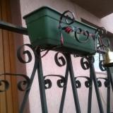 Suport Jardiniera din fier forjat, pentru flori - Ghiveci