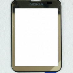 Touchscreen Nokia C3-01 Touch and Type Gold original - Touchscreen telefon mobil