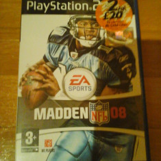 JOC PS2 MADDEN 08 ORIGINAL PAL / STOC REAL in Bucuresti / by DARK WADDER - Jocuri PS2 Ea Sports, Sporturi, 3+, Multiplayer