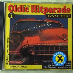 Compilatie OLDIE HITPARADE - C D Original ca NOU - Muzica Rock & Roll
