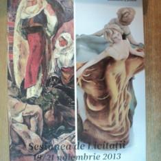 ARTMARK, SESIUNEA DE LICITATII 19 - 21 NOIEMBRIE 2013, LICITATIA DE VALORI TRADITIONALE / LICITATIA ROMANIA ILUSTRATA - Carte Istoria artei