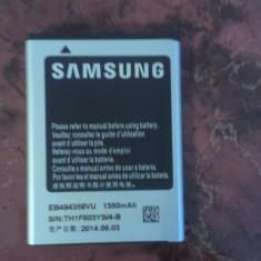 Baterie telefon, Samsung Galaxy Note 3 Neo, Li-ion - ACUMULATOR SAMSUNG Galaxy Pro B7510, Galaxy Gio S5660, Galaxy Ace S5830, Galaxy Ace S5830I, Galaxy Ace Hugo Boss, Galaxy Fit S5670 cod EB494358VU