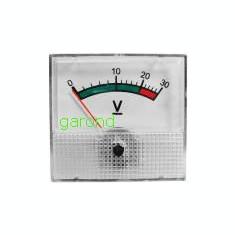 Aparat de masura, voltmetru analogic - 30 V, tensiune continua/78224