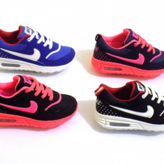 Adidasi copii Nike, Unisex, Textil - ADIDASI NIKE AIR MAX COPII COLECTIA 2016, PANZA, FETE - BAIETI, 5 CULORI