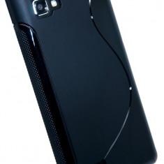 Husa LG Optimus 4X HD P880 TPU S-LINE Black, Negru, Gel TPU, Carcasa, Fara snur