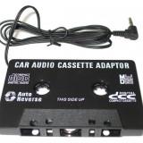 CASETA ADAPTOARE AUTO CU MUFA JACK PENTRU CASETOFON, MP3, TELEFON, DVD, - CD Player MP3 auto
