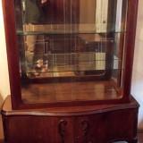 mobila veche din lemn masiv stil chippendale