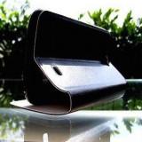 Husa Nokia Lumia 520 Flip Case Slim Black