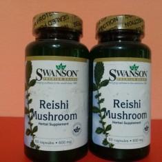 REISHI rosu (GANODERMA LUCIDUM), 600 mg, 60 capsule, cel mai bun pret in Romania! - Supliment nutritiv