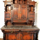 De vanzare bufet lemn masiv - Mobilier, Comode si bufete, 1800 - 1899