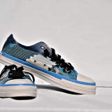 Tenisi Converse ALL STAR  Bleu Print marimea 39