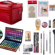 Trusa make up - Kit machiaj Profesional trusa 120 farduri + geanta+accesorii Oferta !!!