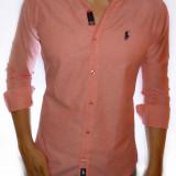 Camasa Polo By Ralph Lauren - Camasa roz - camasa slim fit - CALITATE GARANTATA