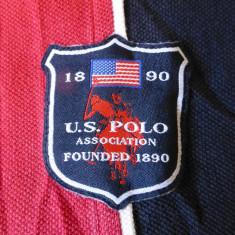 Tricou U.S.P.A. US Polo Association 1890; marime M, vezi dimensiuni exacte - Tricou barbati, Marime: M, Culoare: Din imagine