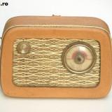 Aparat radio - RADIO TESLA 2800 B-2, FOARTE RAR .ANUL 1960 .NU FUNCTIONEAZA .