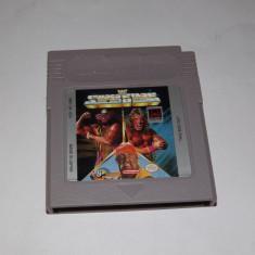Joc consola Nintendo Gameboy Classic - Wrestling Super Stars - Jocuri Game Boy Altele, Actiune, Toate varstele, Single player