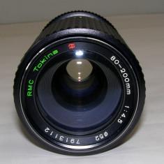Obiectiv Tokina 80-200mm 1:4.5 montura Minolta M/MD - Obiective RF (RangeFinder)